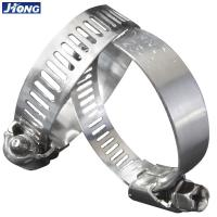 China American / German Type Stainless Steel Hose Clamps Pipe Metal Tie Higher Torque wholesale