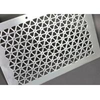 China Aluminum Perforated Metal Screen Facade Cladding Customized For Shopping Mail wholesale