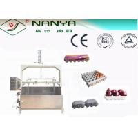 China Semi-automatic Pulp Moulding Machinery Making  Egg-tray / Fruit-tray / 400pcs/h on sale
