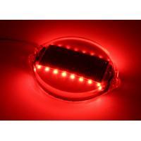 China PC Shell Wired Road Stud Reflectors LED Flashing Marker Lights 16 LEDs 1000M Visible wholesale