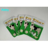 China Logo Customized Pet Food Pouch , Gree Color Food Packaging Bags For Animals wholesale
