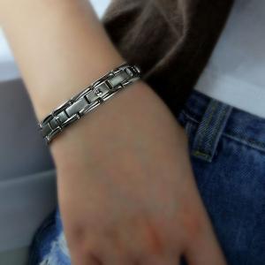 China High quality negative ion titanium bracelet,charming titanium fir infrared ray bracelet wholesale wholesale