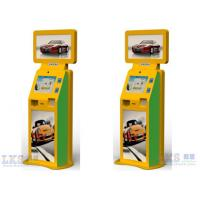 China Advertising Machine Dual Touch Screen Free Standing Kiosk With Movie Ticket Printer wholesale