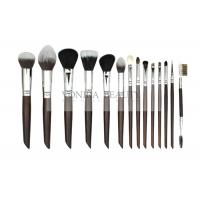 China The Essential 10Pcs Makeup Brush Set  Collection With Soft Bristles And Nature Ebony Handle wholesale