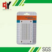 China Half - Size Larger Breadboard Circuit Projects 270 Point 8.6x4.6x0.85 cm wholesale