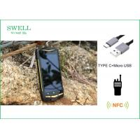 China Android 5.1 NFC 1D 2D Scanner PTT Industrial Smartphone Rugged Outdoor SmartPhone wholesale