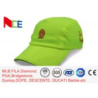China Design your own 6 panel dryfit hat running unisex cap hat sports bike custom mesh sports cap wholesale