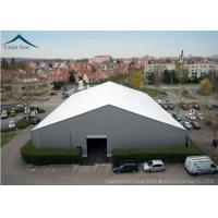 China White  Aluminium Frame Warehouse Tent With  Rainproof Large  Canopy Fabric wholesale