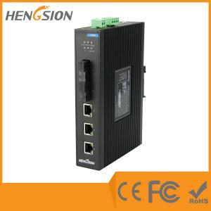 China Industrial Unmanaged EIB05-3E-2F 5 Port Network Switch 2 Megabit FX Poe Ethernet Switch wholesale