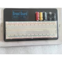 China Round Hole Soldered Breadboard Projects With Aluminum Plate 18.5 * 11 * 0.12cm wholesale