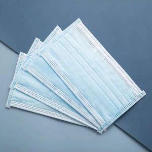 China Tri Player Disposable Sheet Earloop Mask wholesale
