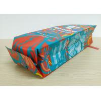 China Custom Printed Aluminum Foil Tin Tie Coffee Bean Packing Pouch / Side Gusset Packaging Bag With Valve wholesale