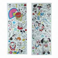 China Cartoon Wall Stickers in Various Designs, Eco-friendly and Nontoxic, Used for Baby Room Decoration wholesale
