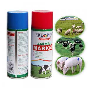 China B1003 Article Tinplate  Acrylic 400ml Animal Marking Paint wholesale