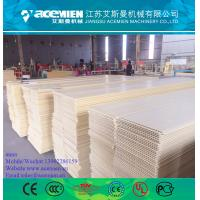 China  PVC Wall Panel Production Line / PVC Wall Panel Board Production Line Extruder Making Machine wholesale