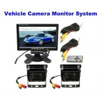 China 2.0 Megapixel Car Reversing Camera / Night Vision Reverse Camera With Monitor System wholesale