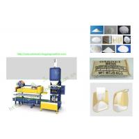 China Semi Automatic Open Mouth Weighing And Bagging Machine With Bag Flatteners / Sewing wholesale