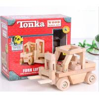 China TONKA wooden toys / assembling truck model / Educational Toys / DIY Toy on sale