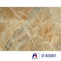 China Limestone PVC Coating Decorative Film For Doors 0.12-0.16mm Thickness wholesale