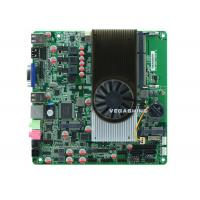 China 2 serial port Mini ITX Embedded All In One Motherboard AMD N550 Dual-Core CPU wholesale