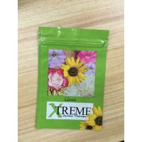 China CBD Flower Herbal Incense Packaging , Medical Aluminum Foil Bags With Eight Colors wholesale