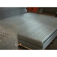 China 6x6 Concrete Reinforcing Welded Wire Mesh Heavy Duty Anti - Corrosion wholesale