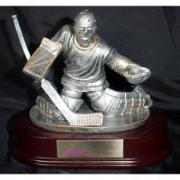 China polyresin trophy,hockey trophy, resin figurine,polyresin statue wholesale