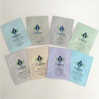 China Digital Printed Foil Pouch Packaging Sachet Cosmetic Skin Care Packaging Bag 5ml wholesale