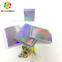 China Recyclable Custom Printed Paper Boxes Folding Hologram Gift Card Fleixble Packaging wholesale