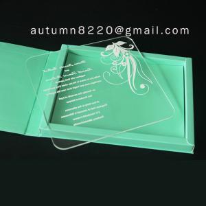 China pop plastic scrolls for invitations wholesale