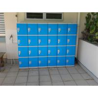 China Color Door 5 Tier Lockers For Office , Coin Return Lockers For Supermarket wholesale