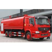 China 6X4 LHD Tanker Fire Truck / Fire Department Ladder Truck / Industrial Fire Trucks wholesale