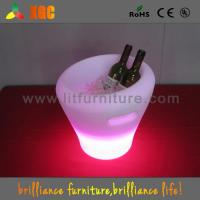 China Rechargeable LED Ice Bucket Eco-friendly with Standard Adapter wholesale
