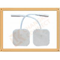 China 4 X 4 Cm Ecg Ekg Tens Machine Electrodes Changke Connect Durable wholesale
