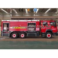 China Euro3 Diesel LHD 6 Wheel Fire Brigade Truck , Fire Engine Truck 8 Ton To 10 Ton wholesale