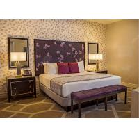 China Royal King Size Modern Queen Bedroom Sets  , High Standard Hotel Style Bedroom Furniture wholesale