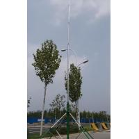 China guyed aluminum telescopic mast antenna pole  6 meter 18 meter telescopic antenna tower with trolley base on sale