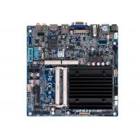 China Intel® J1900 Processor Fanless Embedded Industrial Mainboard  2 COM Mini Itx motherboard wholesale