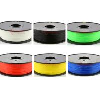 China 1.75mm 3mm Nylon filament,3D printer fllament for Makerbot,muti color,RoHS certificated. wholesale