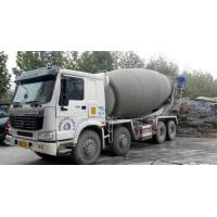 China Drum Mixer Concrete Truck 16cbm , Concrete Transport Truck With Imported Pump wholesale