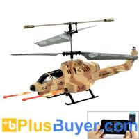 China Cobra iHelicopter - RC Helicopter with iPhone/iPad/iPod/Android Phone Controlled (Desert Camouflage) on sale