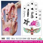 China Hand decoration temporary tattoo sticker body tattoos fake tattoo sticker wholesale