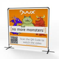 China Innovative Exhibition Display Banners, Large Format Fabric Trade Show Banners wholesale