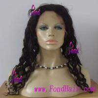 China 100% Viring Remy Hair Front Lace Wig wholesale
