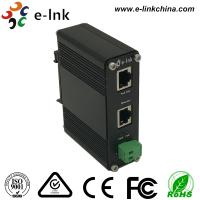 China E-link 12~48VDC Power Input Industrial Gigabit PoE+ Injector wholesale