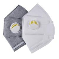 China Folding FFP2 Respirator Mask White Color For Electronic Manufacturing wholesale