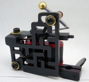 China Salon Handmade Tattoo Machine Set 30000 Turn Frequency / Tattoo Gun Equipment wholesale