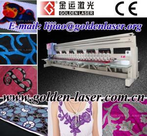 China Saree Laser Embroidery Machine Price on sale