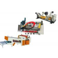 China 2 Layer Single Facer Corrugated Cardboard Production Line For Making Corrugated Sheet on sale