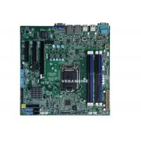 China Xeon-E3 V3 Haswell Refresh CPU 6 SATA NVR Motherboard Micro ATX surveillance mainboard wholesale